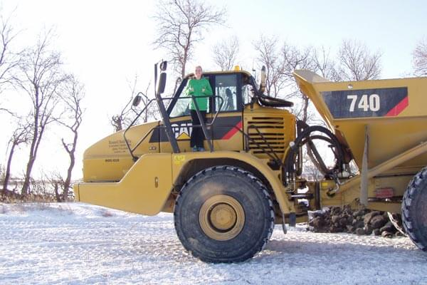 Earthmover Parked