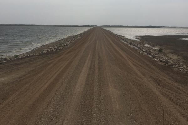 Dirt Road on Lampan Project