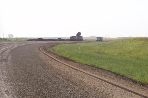 Graded Dirt Road Estevan