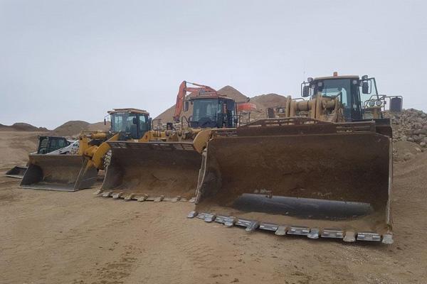 JJ Trucking bulldozers