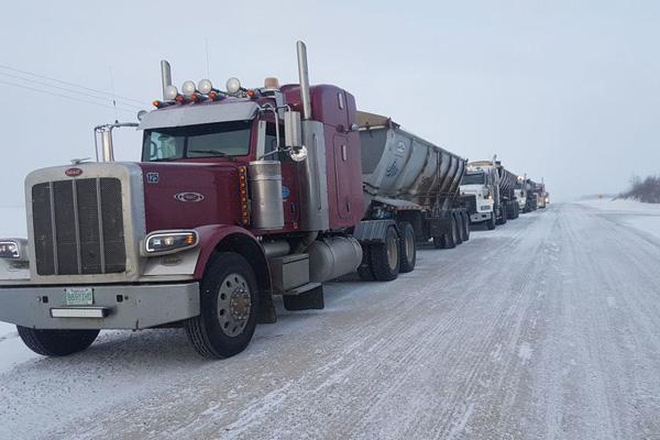 JJ Trucking Trucks